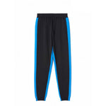 Two-Tone Knit Track Pants