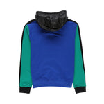 Color Block Hoodie Sweatshirt in Blue