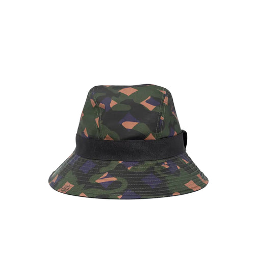 MCM Nylon Bucket Hat in Munich Lion Camouflage