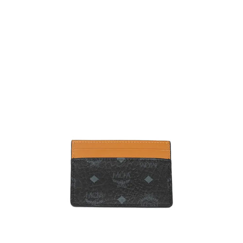 MCM Logo Print Card Holder