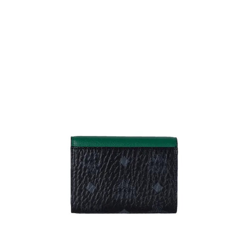 Patricia Trifold Colorblock Wallet in Visetos