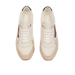 Bally Men's GISMO Leather Sneakers / White