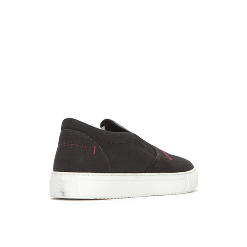 Marcelo Burlon Confidencial Men's Canvass Slip-On Sneakers
