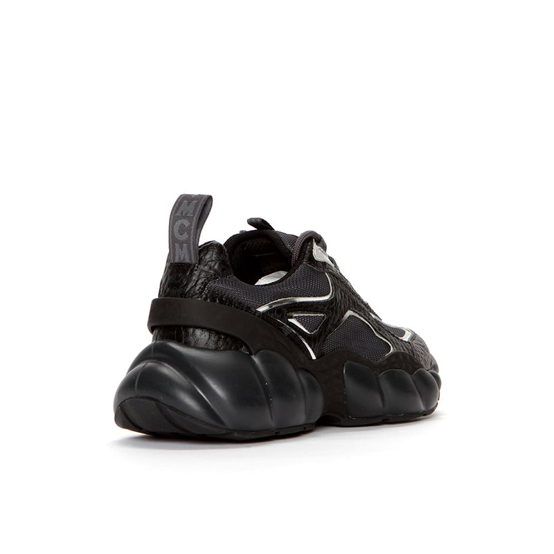 MCM Visetos Low Top Himmel Sneakers Black
