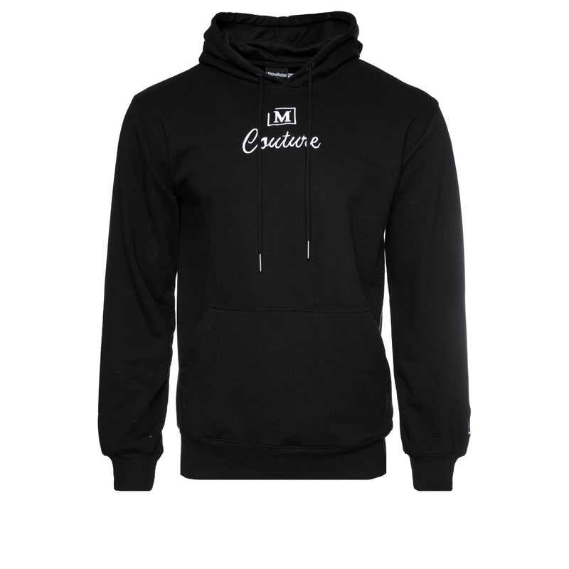 MDB Couture French Terry Couture SS21 Men's Hoodie Black and White