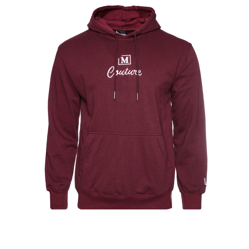 MDB Couture French Terry Couture SS21 Men's Hoodie Maroon