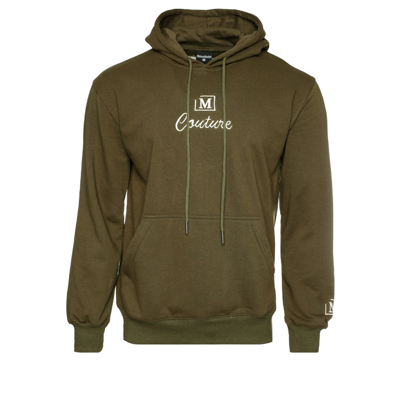 MDB Couture French Terry Couture SS21 Men's Hoodie Olive