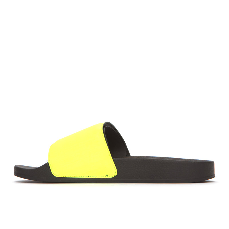 Marcelo Burlon Cross Men's Slides Yellow