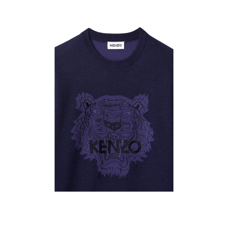 Kenzo Paris Classic Tiger Head Men's Jumper