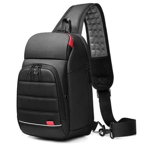 "Lex Chest backpack for 9.7"" iPad USB Charging - Momospirit"