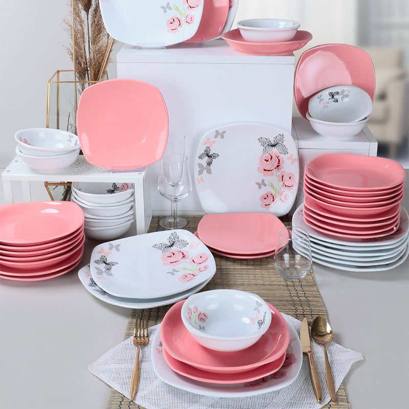 Food Dishes Set 48 Pieces - Gul Trend model