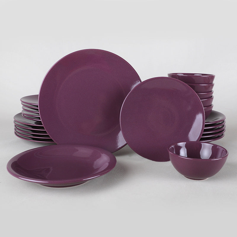 Food Dishes Set 24 Pieces - Ege Mor model