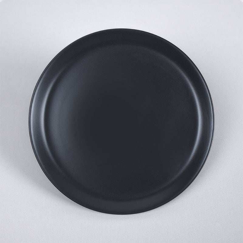 Food Dishes Set 18 Pieces - Hitit Matte Black\Red\Cream model