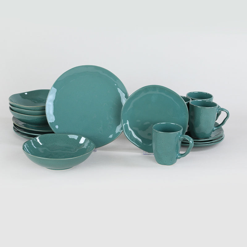 Food Dishes Set 48 Pieces - Ocean model