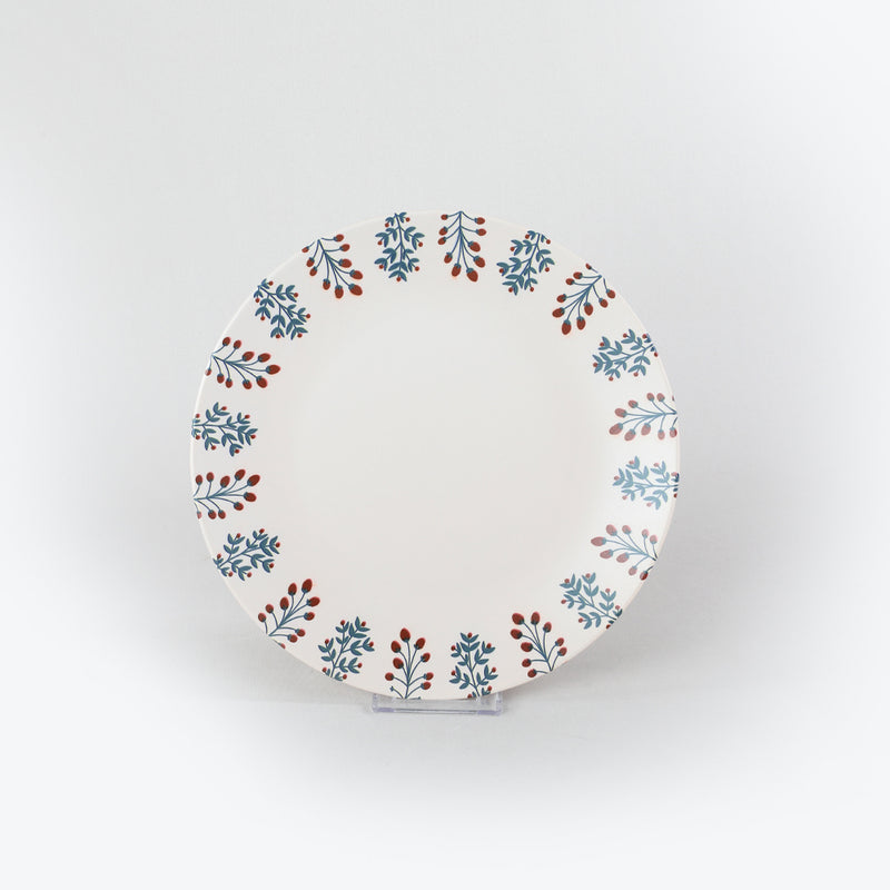 Breakfast Dishes Set 25 Pieces - Christmas model