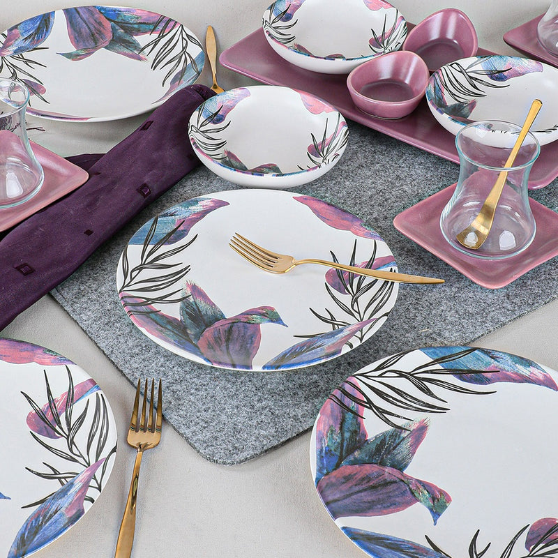 Breakfast Dishes Set 21 Pieces - Vio model