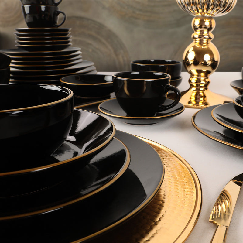 Food\ Breakfast Dishes Set  44 Pieces - Ege Gold model