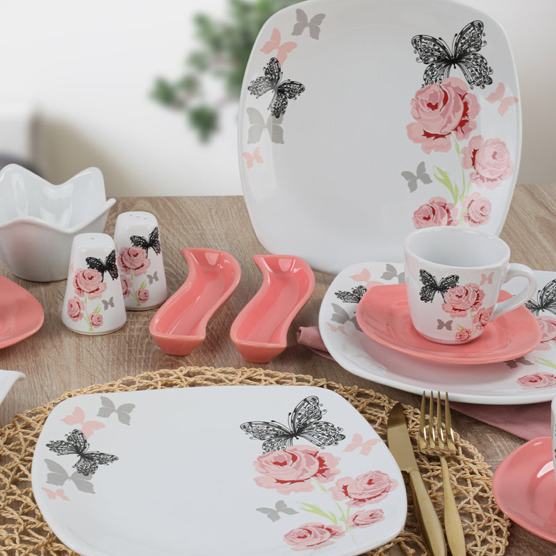 Breakfast Dishes Set 44 Pieces - Gul Trend model