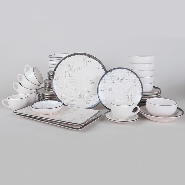 Food Dishes Set 44 Pieces - Line model
