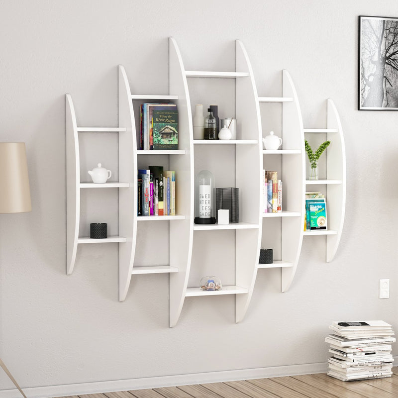 Book shelves - Alvino  model - keblyhome