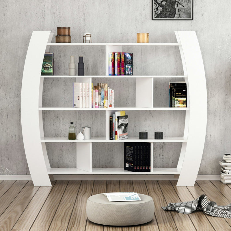 Book Shelves - Teeth model - keblyhome