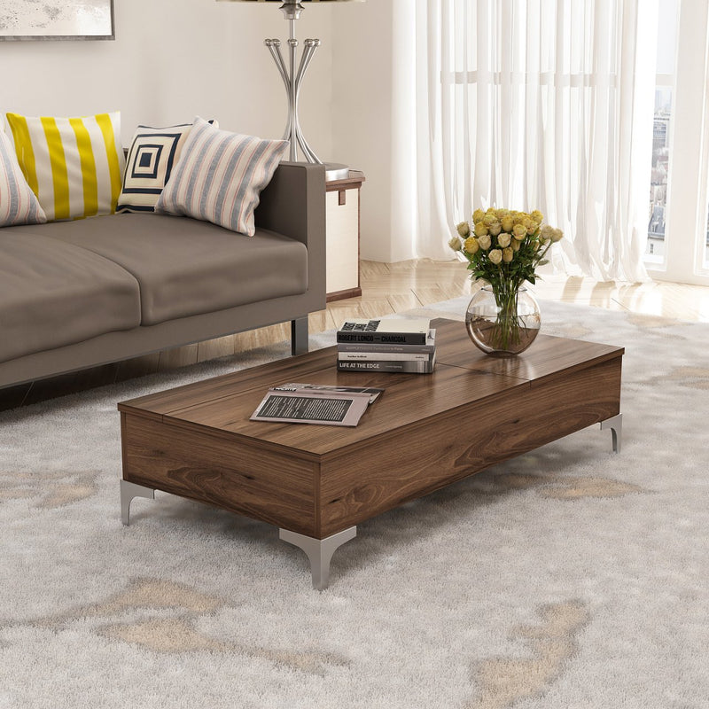 Smart Sofa Table - Delinda Model - keblyhome
