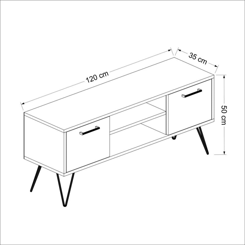 Tv table - Almira model - keblyhome