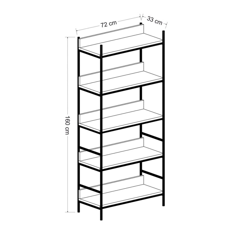 Book Shelves - Nelly model - keblyhome