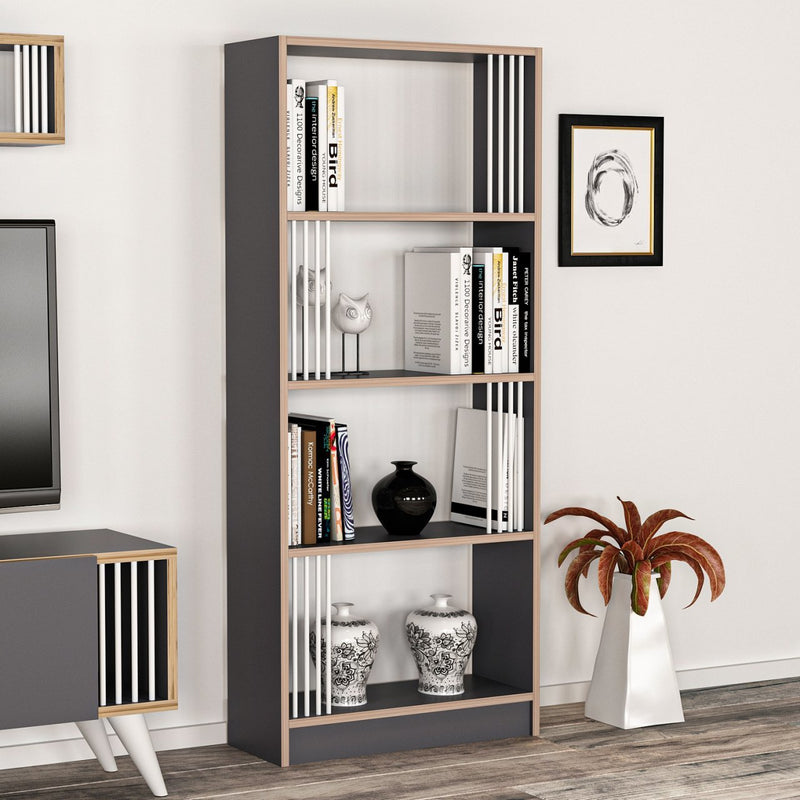 Book Shelves - Negro model - keblyhome