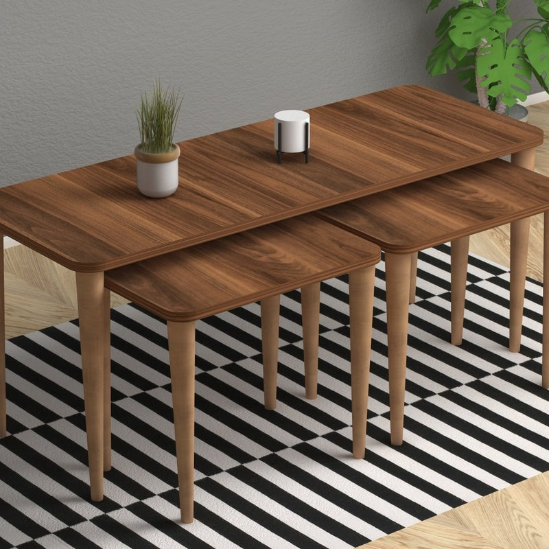 Three piece table - Omega model