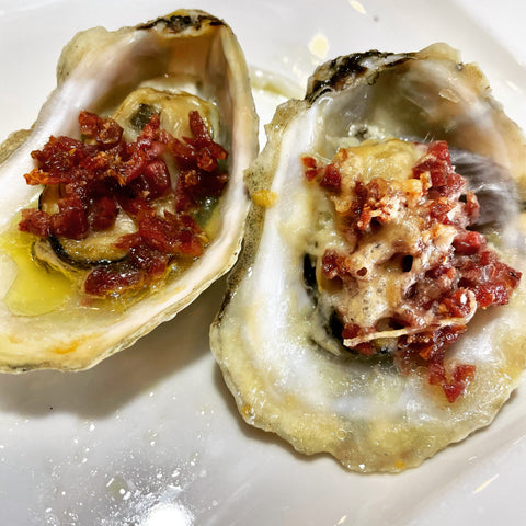 Rogue Oysters Finocchiona | Rogue Oysters