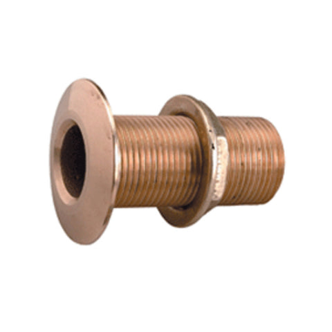 "Perko 1"" Thru-Hull Fitting w/Pipe Thread Bronze MADE IN THE USA"