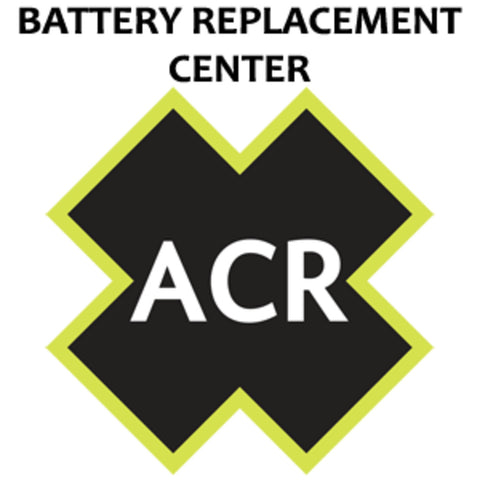 ACR FBRS 2880 and 2881 Battery Replacement Service - PLB-375 ResQLink/ResQLink+