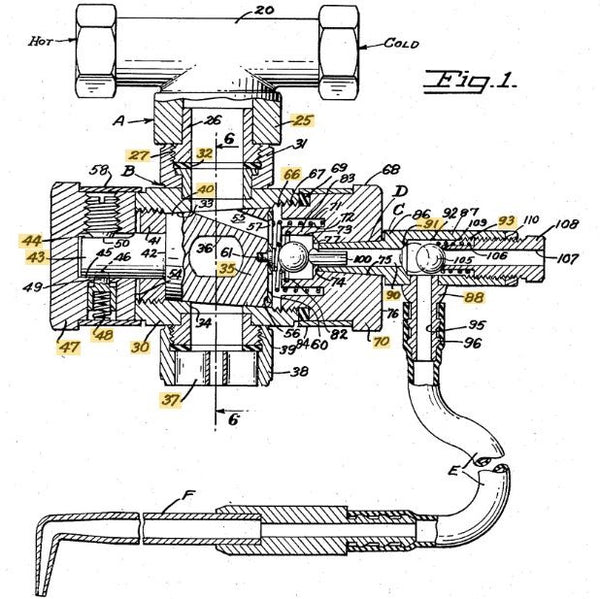 Water Flossing Patent