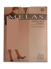 Load image into Gallery viewer, Melas Crystal Sheer Control Pantyhose AS-609