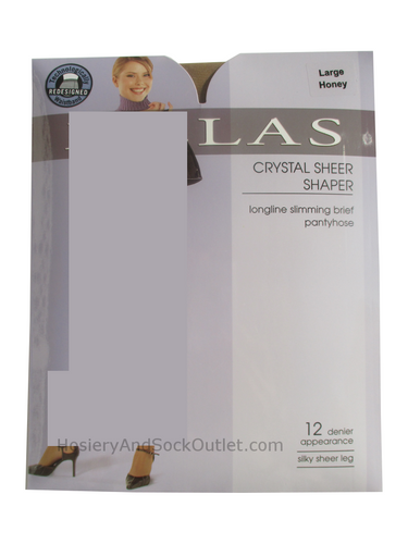 Melas Crystal Sheer Shaper Pantyhose, AS-611