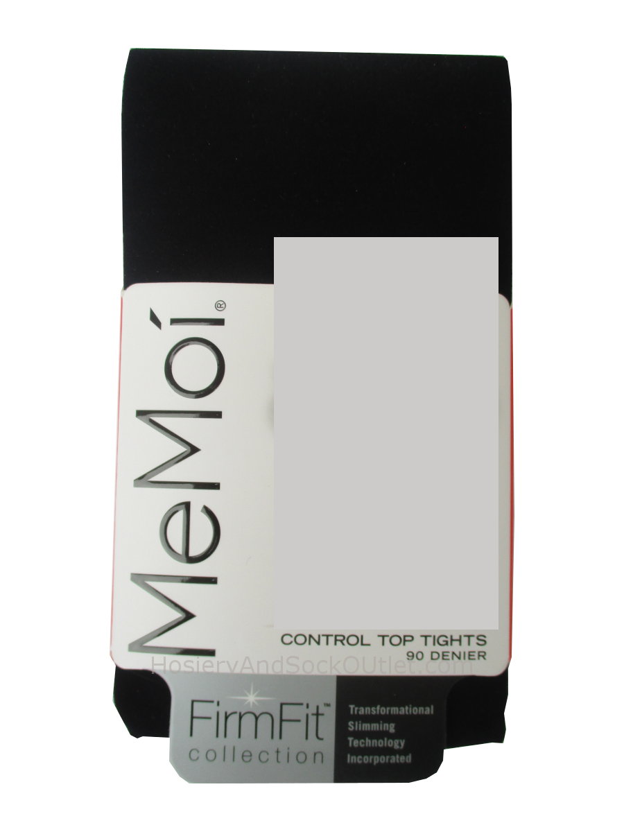 Memoi Firm Fit 90 Denier Control Top Tights MO-892