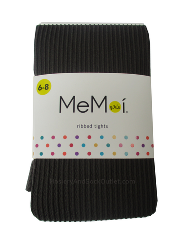 Memoi Ribbed Tights, MK-209 for Girls