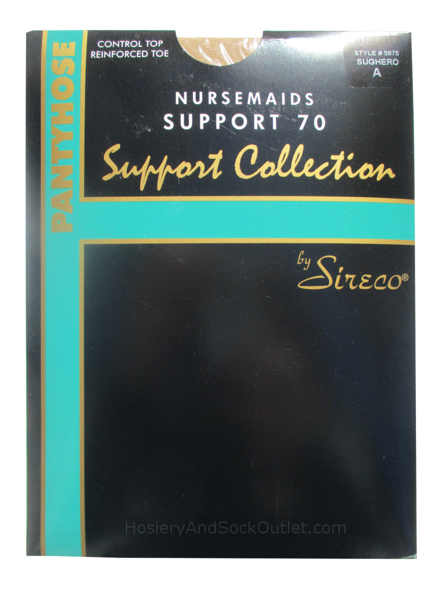 Sireco Nursemaids Support 70 Pantyhose Model 5875
