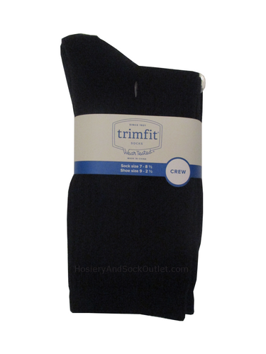 Trimfit Boys Ribbed Mid-Calf Socks