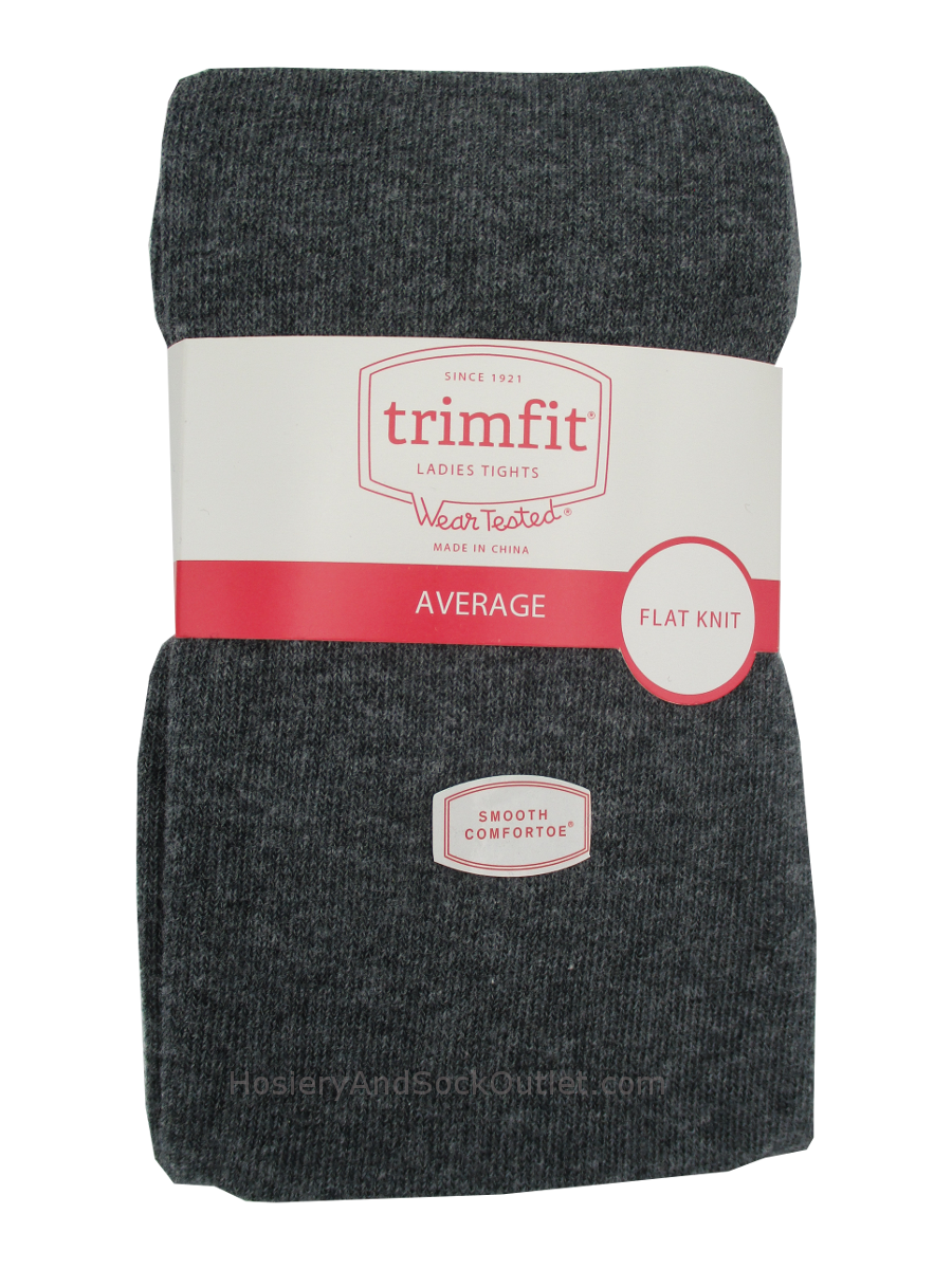 Trimfit Cotton Flat Knit Tights