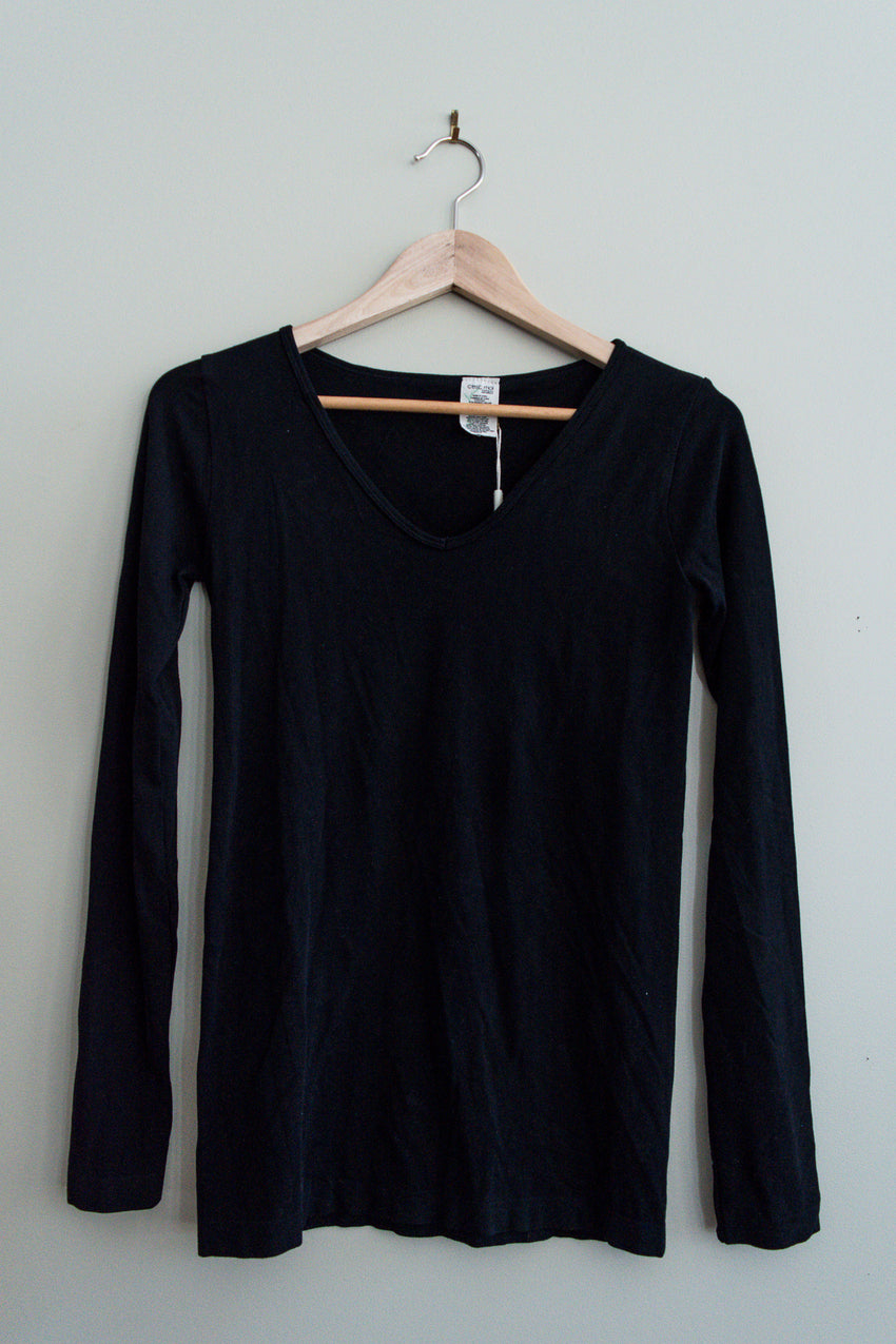 Long sleeve bamboo top