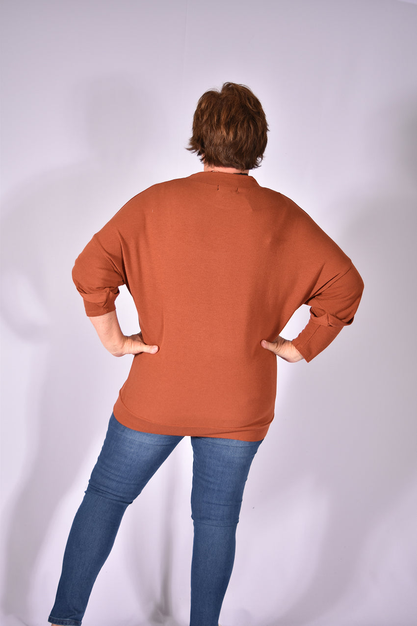 Extended Sleeve Pullover