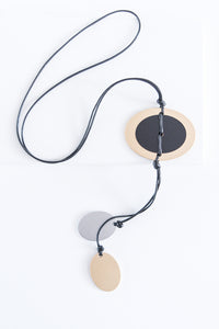 Oval Disc Necklaces