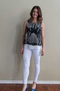 Line It Up Layered Top