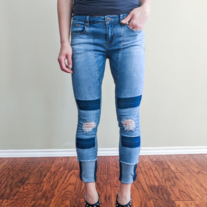 Brea Distressed Jean