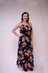 Floral Nights Maxi Dress