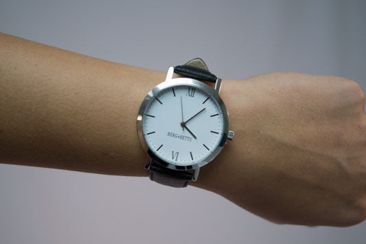 Canadian made round face watch