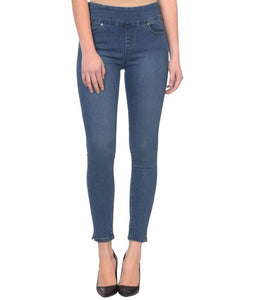 high rise stretch jean