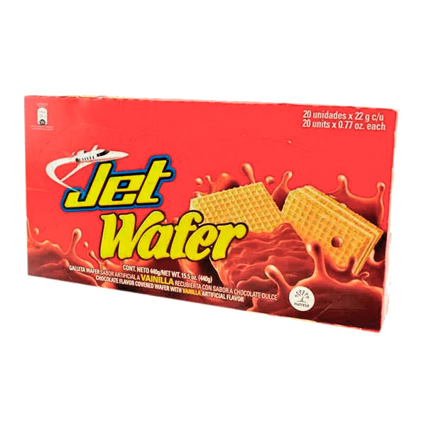 WAFER JET ROJO